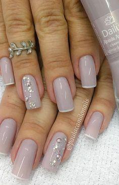 Glitter Tip Nails, Nails Shape, Manicure And Pedicure, Nail Tips, You Nailed It, Nail Art Designs, Noodles, Beauty Hacks, Make Up