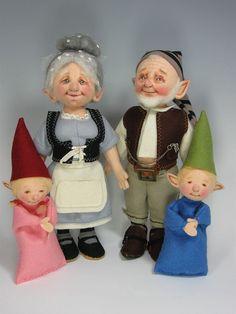 Gnomes by Helen Priem