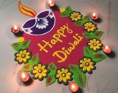 Diya Rangoli Design Rangoli Designs Flower, Rangoli Designs Diwali, Rangoli Designs Images, Beautiful Rangoli Designs, Diwali Wishes, Happy Diwali, Diwali Deepavali, Reduce Dark Circles, Dark Circles Under Eyes