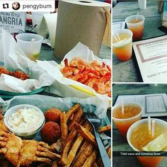 Yum. Y'all know where to find me tonight.  #dine #CrabCatchers #LittleRiverSC #Repost @pengybum with @repostapp  Gator bites  steamed shrimp with old bay seasoning and softshell crabs     with @jatsyjoe  #gator #gatorbites #shrimp #steamed #steamedshrimp #oldbayseasoning #oldbay #shrimp #crab #crabs #softshell #softshellcrab #seafood #dinner #americanfood #southcarolina #southernfood