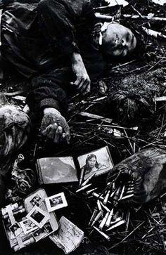 Don McCullin -- Fallen North Vietnamese soldier, 1968