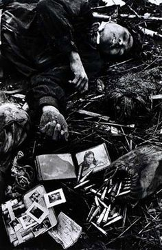 Don McCullin -- Fallen North Vietnamese soldier, 1968