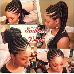 Afro-American hair braid styles of 2016 – make dimensional braids Ghana Braids Hairstyles, African Hairstyles, Braided Hairstyles, Ghana Braids Updo, Goddess Braids Updo, Box Braids, Black Girl Braids, Girls Braids, Ghana Braid Styles