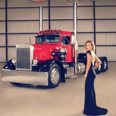 48 best girls and big trucks what a perfect combo images big rig rh pinterest com