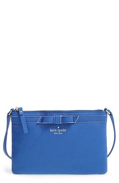 The signature bow is such a cute detail on this Kate Spade crossbody bag.