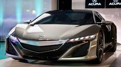 2014 Acura NSX. Oooh. This is sexy and I want it.
