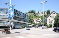 Gabriel Kaspar Pro Velo Region Baden Aktivemitglied greift das Veloviadukt über den Schulhausplatz nochmals auf und geht auf den Stadtrat Baden zu. (Jungfreisinnige)