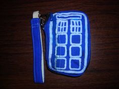 TARDIS wristlet by leather and lace