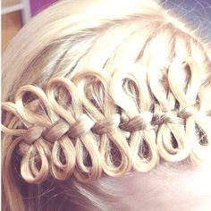 i love this snake braid!