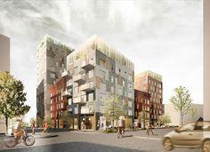 The Style Examiner: C.F. Møller Design New Residential Area in Stockho...