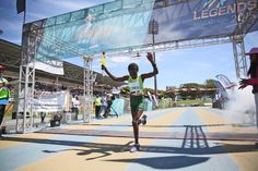OCTOBER 03, 2015 Jenniffer Koech (Nedbank) took home the gold (68km) at the Legends Marathon on Saturday in East London Picture: MARK ANDREWS © DAILY DISPATCH PHOTO GALLERY: Early push in Legends Marathon brings gold for Makaza | DispatchLIVE