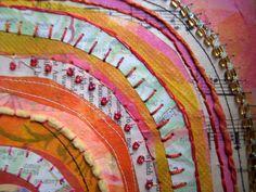 Jane LaFazio — Recycled Circles in Pink