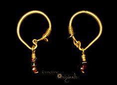 Roman 'Garnet Pendant' Earrings 022705