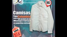 Video Promocional Camisas Tipo Columbia