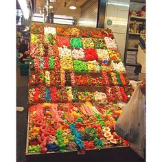 The weekends are much sweeter when you're in the markets of Barcelona. #3rdRockAdventures #Travel
