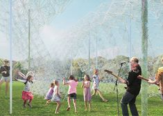 Installation made of recycled coat hangers planned for New York's Governors Island