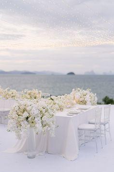 Wedding Set Up, French Wedding, Chic Wedding, Summer Wedding, Wedding Ideas, Phuket Wedding, Thailand Wedding, Destination Wedding, Wedding Planner