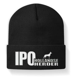 Mütze HOLLANDSE HERDER IPO Hundesport T-Shirt Bad Hair Day, Holland, Beanie, Hats, T Shirt, Fashion, Accessories, Embroidery, The Nederlands