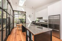 Mt Vic Kitchen by Clare Bush Architects, winner Masterbuilders Renovation of the Year, 2017