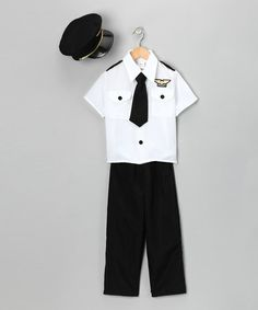 Take a look at this Pilot Dress-Up Set -  Toddler & Kids by Dress Up America on #zulily today!