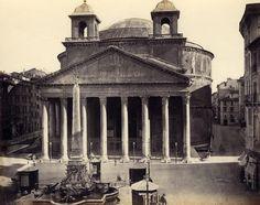 Rome. The Parthenon. circa 1880