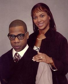 Beyonce & Jay Z as regular people.  SO funny!!!  Whoever made this gets an A+++ in Photoshop's Sears Portrait Tool proficiency.