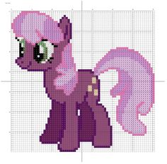 I did the best I could to use the same colours as I did in the patterns for Sweetie Belle and Rarity, and I think I succeeded. But there is a possibility that one or two colours are different from ...