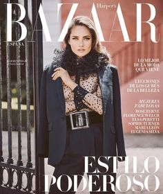 Karmen Pedaru Poses in the Best of Fall for Harper's Bazaar Spain August 2016