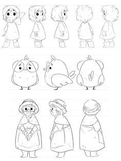 Iris' Garden: Family Character Designs on Behance