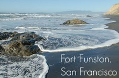 Fort Funston: San Francisco's Most Beautiful Dog Beach Most Beautiful Dogs, Beautiful Sites, Beautiful Places To Travel, California Coast, California Travel, Northern California, Fort Funston, Dogs Day Out, Fantasy Island