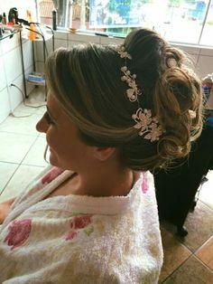 Penteado Noiva  Coque grego lindo