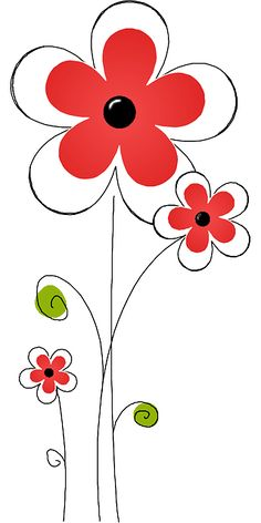 Garden, Flower Flowers Plant White Summer Garden F Doodle Art, Flower Clipart, Flower Doodles, Rock Art, Easy Drawings, Painted Rocks, Flower Art, Watercolor Art, Card Making