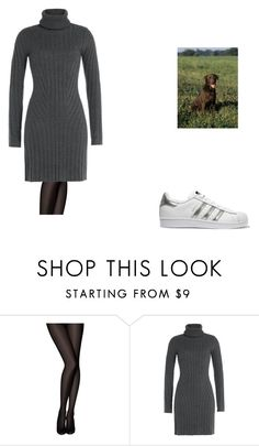 """Outfit #3942"" by royalsfollower ❤ liked on Polyvore featuring Pretty Polly, Barbara Bui and adidas Originals"