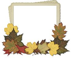 Scrapbooking TammyTags -- TT - Designer - HG Designs, TT - Item - Frame, TT - Style - Cluster, TT - Theme - Autumn or Thanksgiving