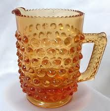 Amber Glass Hobnail. Follow me, on.fb.me/Po8uIh