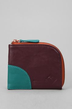 #Hester St. Trading Co. Colorblock Zipper #Wallet  #UrbanOutfitters