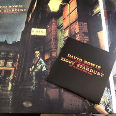 Ziggy Stardust 2012 edition 40th anniversary heavyweight vinyl And hi resolution DVD audio
