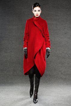 Roten+Wintermantel+Wollmantel+warme+Jacke+C026+von+Luyahui+auf+DaWanda.com