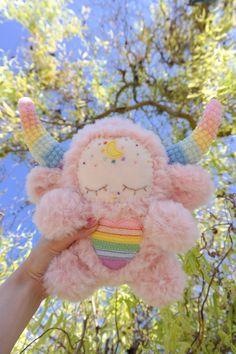 Kawaii Crochet, Cute Crochet, Crochet Toys, Kawaii Plush, Cute Plush, Sewing Crafts, Sewing Projects, Diy Crochet Projects, Crochet Monsters