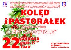 Koncert kolęd i pastorałek, 22.12.2015 r.