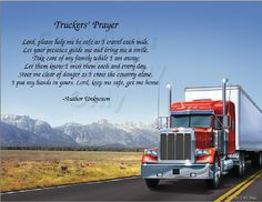 Truckers Prayer Poem