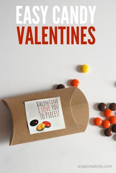 Easy Candy Valentine