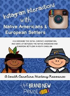 Account of the interactions between the indians and the american settlers