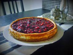 Julia's Kitchen: CHEESECAKE CU FRUCTE DE PADURE / CHEESECAKE AI FRU...