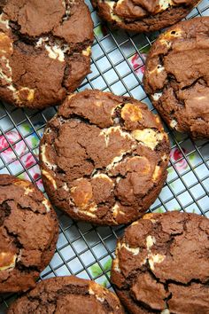 Gluten Free Double Chocolate Cookies - Soft & Double Chocolatey Gluten Free Cookies that are perfect for a treat – best of all, you won't even realise they are Gluten Free!