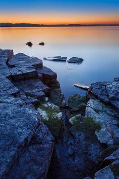 Stillness at Lake Champlain