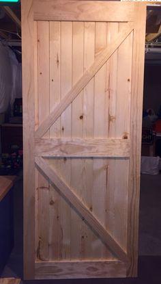 Barn Door - One down, one to go!