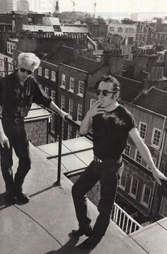 The Clash - Joe Strummer & Jim Jarmusch