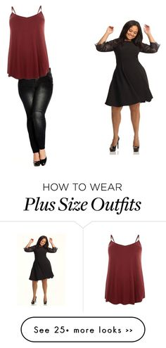 """""""Plus size beauties"""" by maymahomie on Polyvore"""