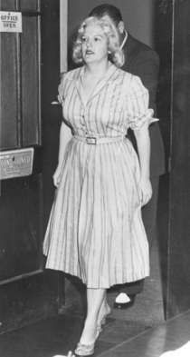 Anjette Lyles was born in Georgia in 1917. Between 1952-1958, she murdered 2 husbands, her mother-in-law and 9-year old daughter by arsenic poisoning all for the insurance money.  In 1958, she was found guilty of murder and sentenced to death.  She was later found to be insane and spent the rest of her life at the state mental institution in Milledgeville, Georgia.  She died of a heart attack in 1977 aged 60.
